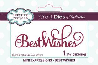 Mini Expressions - Best Wishes